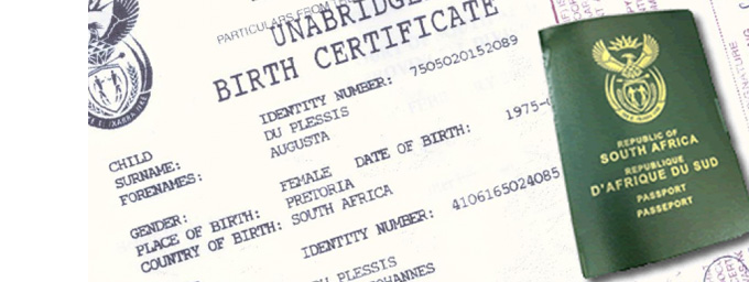 New draft amendment for the Unabridged Birth Certificate (UBC) saga for South Africa.